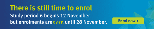 there is still time to enrol