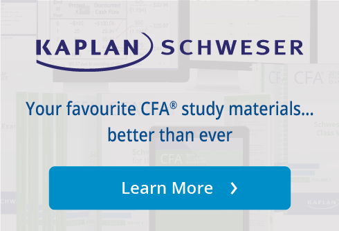 Kaplan Schweser Free CFA® Resources | Kaplan Professional