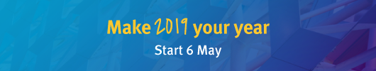 Start a postgraduate qualification on 6 May