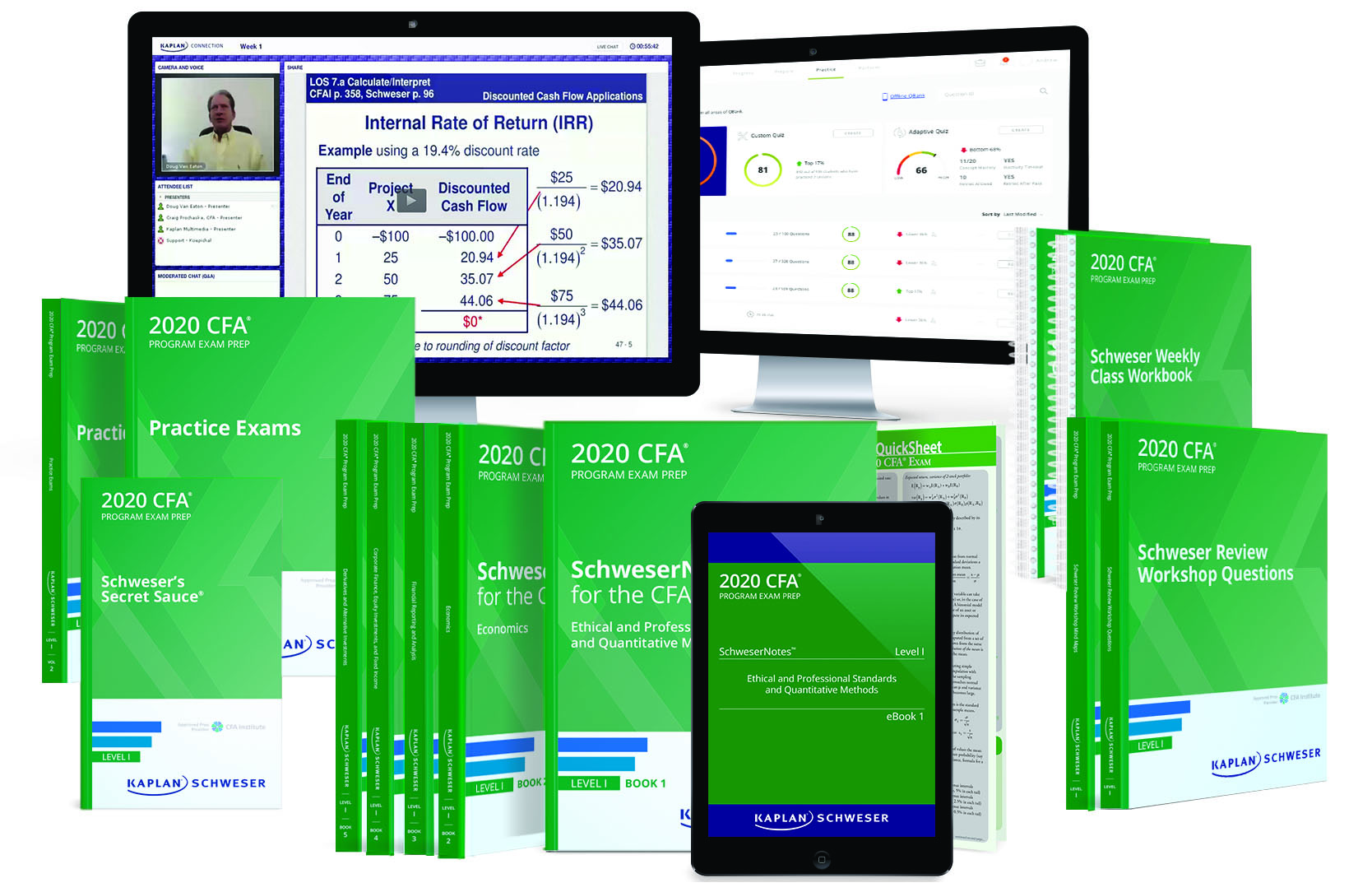 CFA® 2020 June Level I - Study Solutions | Kaplan Professional